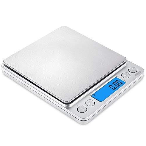 Mini balanza de joyería I2000 balanza de quilates en polvo balanza 0.1g bolsillo de té balanza de palma balanza electrónica 0.01g