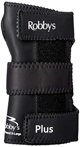 Robby's Leather Plus Right Wrist Support, Large