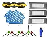 MTKD® Kit de Recambios para Aspiradora Ecovacs Deebot OZMO 900 - Kit de Cepillos Filtros y Mopas -...