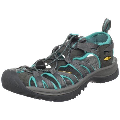 Keen Damen Whisper Sport-& Outdoor Sandalen, Dark Shadow/Ceramic, 39 EU