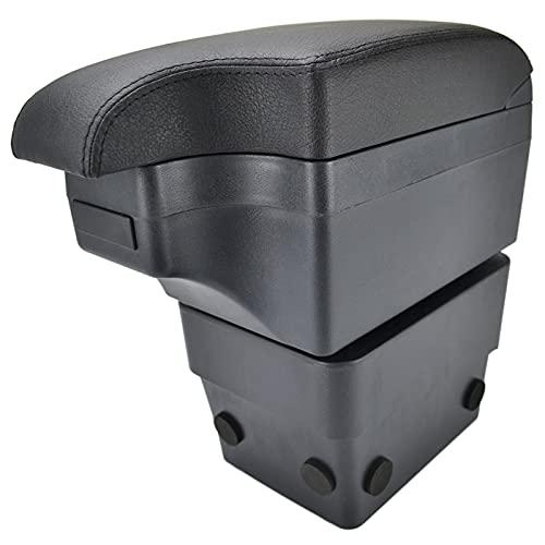 Car Styling Black Center Console Box para Skoda Octavia 2014-2017 Nuevo Reposabrazos 2015