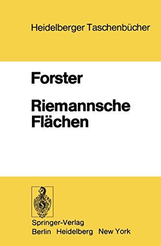 Riemannsche Flächen (Heidelberger Taschenbücher, 184, Band 184)