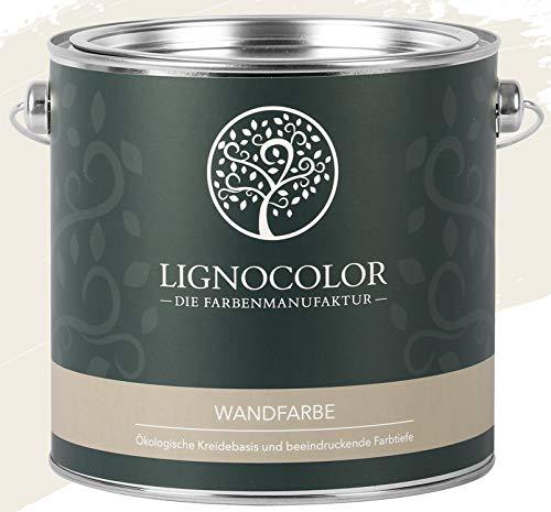 Lignocolor Wandfarbe Innenfarbe Deckenfarbe edelmatt 2,5 L (Manhattan)