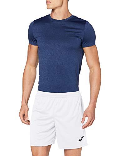 Joma Treviso Pantalones Cortos Equipamiento, Hombres, Blanco, S