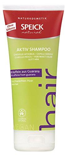 Speick Natural Aktiv Shampoo mit Koffein, 4 x 200ml