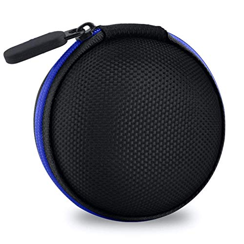 Clavier Hard Carrying Case Portable Protection Storage Bag for Earphone Headset Headphone Black