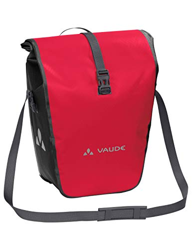 VAUDE  Rt-hinterradtaschen 12411, red, One size, Aqua Back