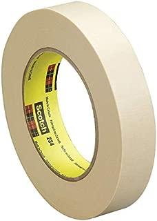 Scotch 234 General Purpose Masking Tape, 1 Inch x 60 Yards, Tan