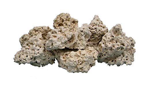 Nature's Ocean Coral Base Rock 4-8 INCHES, 20 LBS