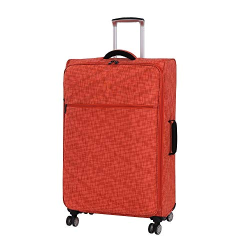 it luggage 30.5' Stitched Squares Lightweight Case, Orange