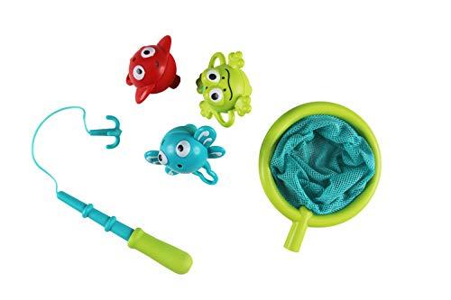 Hape E0214 Badespielzeug Angelspaß-Set, Badewannenspielzeug, Mehrfarbig