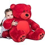 VERCART Giant Huge Cuddly Stuffed Animals Plush Teddy Bear Toy Doll for Birthday...