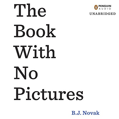 The Book with No Pictures audiobook cover art