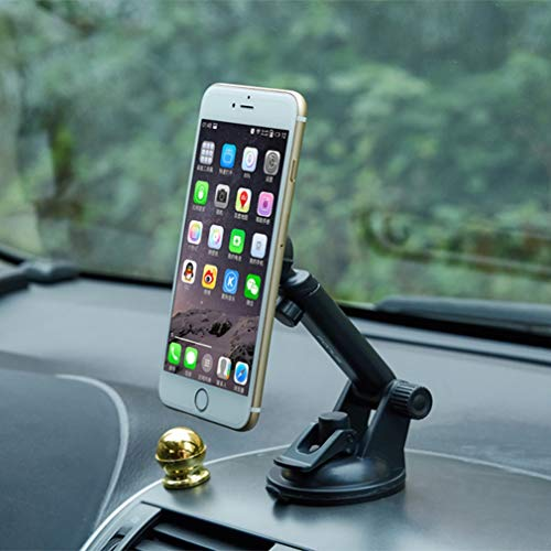 Premium Car Mount Dash-Board Windshield Magnetic Holder Compatible with LG V10, Tribute HD Dynasty 2, Stylo 4 Plus 3 Plus 2 V Plus, Q7 Plus Q6, Premier LTE, Lancet, K8+ (2018), K8 V K7 K30 J2W