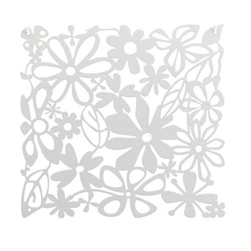 koziol Raumteiler  Alice,  Kunststoff, solid weiß, 0.3 x 27 x 27 cm