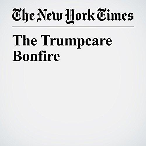 The Trumpcare Bonfire copertina