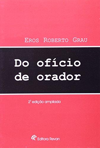 Do Oficio De Orador