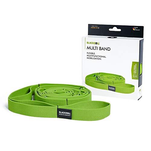 BLACKROLL MULTI Band - Fitnessband. Langes Trainingsband für eine stabile Muskulatur. Gymnastikband mit Schlaufen für variable Trainingsmöglichkeiten