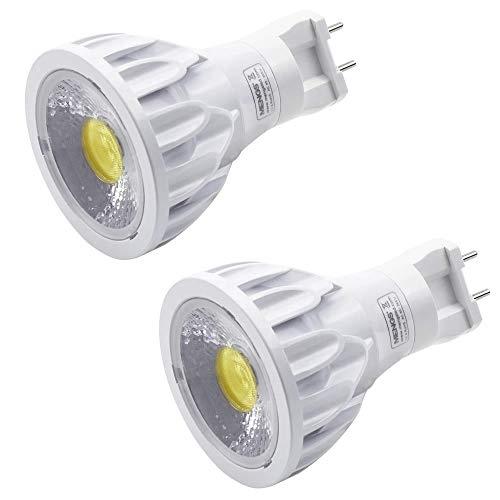 MENGS 2 Stück PAR20 LED Reflektorspot G12 Leuchtmittel Brine 12W LED Spot Licht 1200 Lumen Ersatz 96W Halogenlampen Kaltweiß 6000K 24 ° Abstrahlwinkel AC 85-265V
