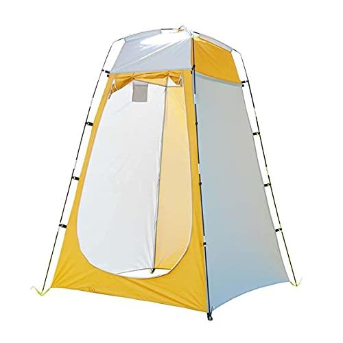 GHJA Carpa para baño portátil para Acampar - Carpa para Ducha de privacidad Carpa para vestidor Plegable en la Playa Sombrilla para habitación de Campamento Toldo para Refugio al Aire Libre