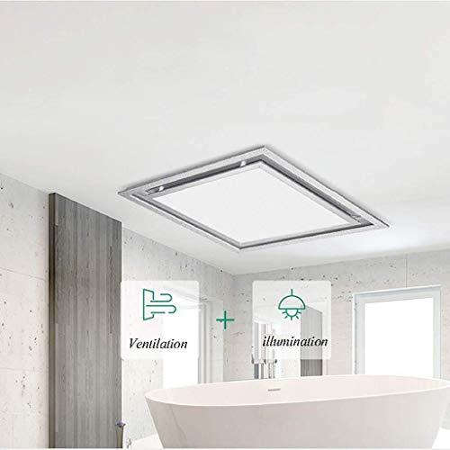 Salle de bains Hotte aspirante, cuisine Hotte aspirante plafond Hotte Sourdine Ventilation Ventilateur volume d'air: 150m3 / h Applicable Surface: 5-8m2 bruit: 37dB