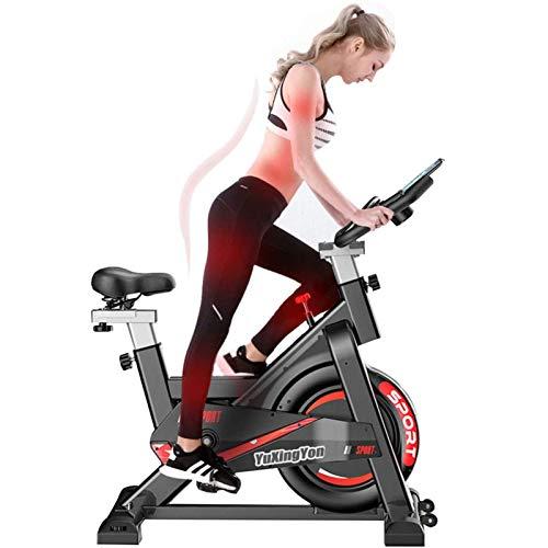 SUUUK Bicicleta De Ejercicio Silenciosa con Control Magnético, Bicicleta De Volante Todo Incluido con Resistencia para Entrenamiento De Máquina De Entrenamiento Cardiovascular En Casa