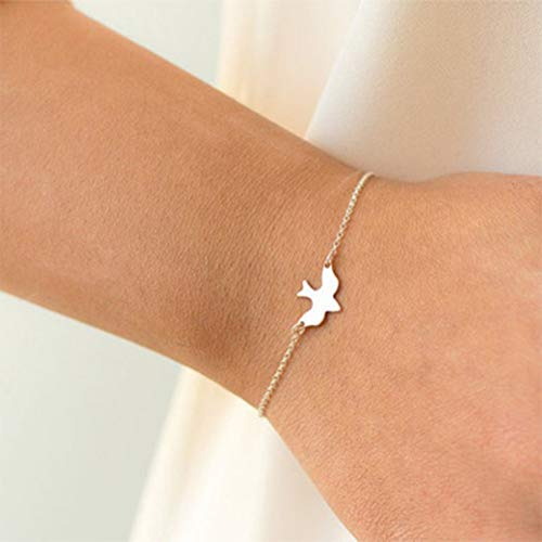 WHFDRHSZ Armband Armreifen Armband Schwalbe Baby Vogel Armbänder Abstrakte Armbänder