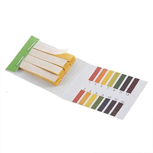 VIVOXA 5841611 Full pH 1-14 Test Indicator Litmus Paper Water Soil Testing Kit, 80 Strips