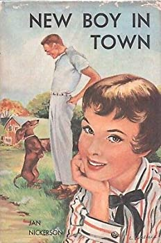 Hardcover NEW BOY IN TOWN by JAN NICKERSON Funk Wagnalls Hardcover 1960 Book Club Book