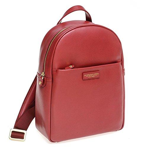 Spaldin & Bros Mochila Backpack Piel Azul Grande Bellevue Line