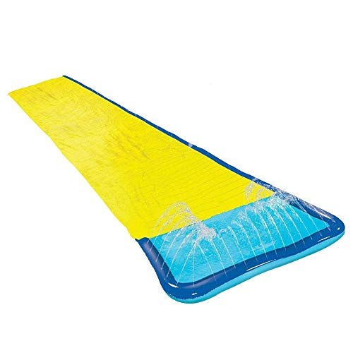 Lowest Price! Water Slide,Lawn Water Slide Slip and Slide with Water Spray Function Summer Water Mat...