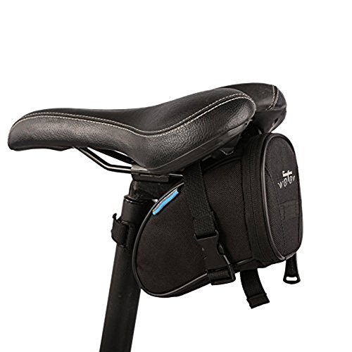 WOTOW Bicycle Repair Set Bike Outdoor Seat Saddle Bag Multi Function Tool Kit (14 in 1 Black Tool Kit)