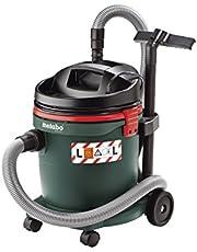 Metabo Odkurzacz do pracy na mokro i na sucho ASA 32 L (przemysłowy odkurzacz, bezworkowy, maks. wydajność powietrza: 3600 l/min, 1200 W) 602013000