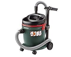 Aspirateur à eau et à sec Metabo ASA 32 L (aspirateur industriel, sans sac; Puissance d'air max: 3600 l/min, 1200 W) 602013000