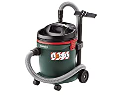 Metabo wet & dry stofzuiger ASA 32 L (industriële stofzuiger, zakloos; Air power max: 3600 l/min, 1200 W) 602013000*