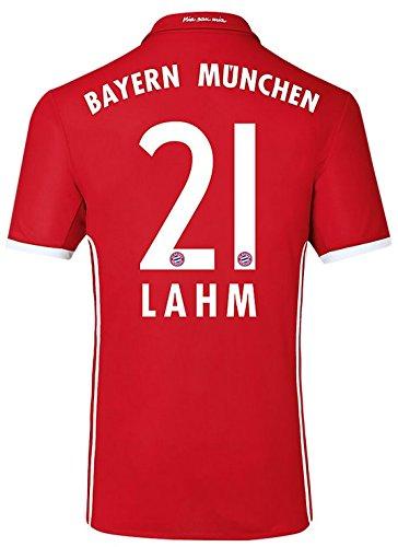 Trikot Adidas FC Bayern München 2016-2017 Home (Lahm 21, 176)