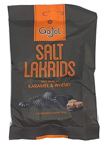 Ga-Jol Salzlakritz Karamell & Whiskey, 1er Pack (1 x 140 g)