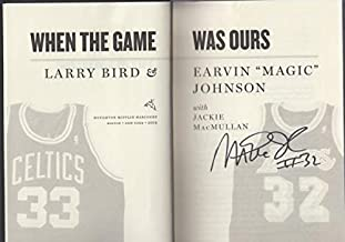 When The Game Was Ours Magic Johnson & Larry Bird Autographed Signed By Magic PSA/DNA