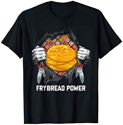 Native American Indian Food Frybread Power Indigenous T Shirt product image