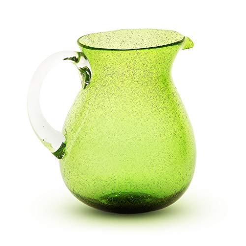 Caraffa in vetro con manico Memento Originale Lime