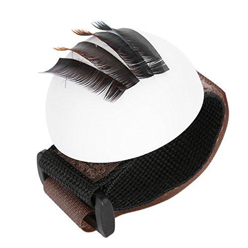 Palette de support d'extension de cils False Eye Lashes Stand avec outil de maquillage pour bandoulière Vola