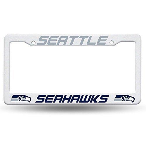 Rico Industries NFL Seattle Seahawks Kunststoff-Tellerrahmen, weiß, 12