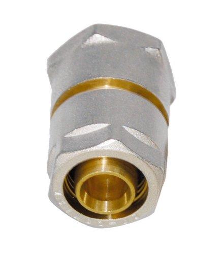 WIROFLEX | Klemmring-Verschraubung inklusive Adapter | Komplettlösung | Schraubsystem | 20 mm x 1/2 IG | Für Mehrschichtverbundrohr