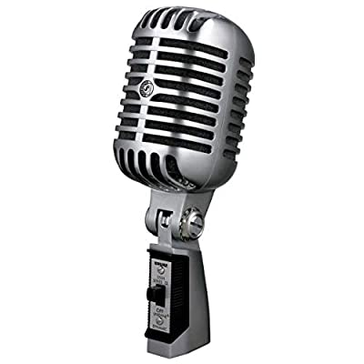 Shure 55SH Series II Iconic Unidyne Dynamic Vocal Microphone , 7.5 x 2.2 x 3.1 inches