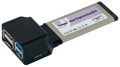 Sonnet Technologies TSATA6USB3-E34 Tempo Duo Expresskarte (6Gb/s eSATA, USB 3.0)