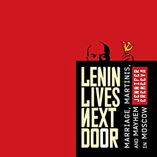 Lenin Lives Next Door audiobook cover art