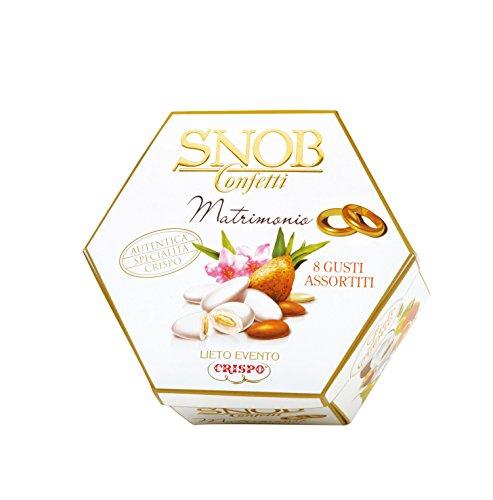 Crispo Confetti Snob Lieto Evento 6 Gusti Assortiti - Colore Bianco - 500 g