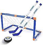 Wuudi, mini cacciavite a LED per bambini, per hockey su ghiaccio, per bambini dai 3 ai 12 anni