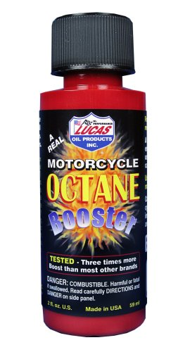 Lucas Oil 10725-PK18 Octane Booster - 2 oz, Pack of 18