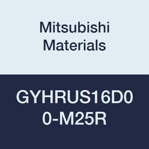 Mitsubishi Materials GYHRUS16D00-M25R GY Modular Type External Grooving Holder with Right Hand M25 Modular Blade, 0° Angle, 0.787